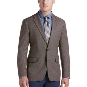 Men's Kenneth Cole Brown Blazer Sports Jacket
